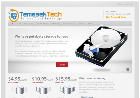 TemasekTech official new website